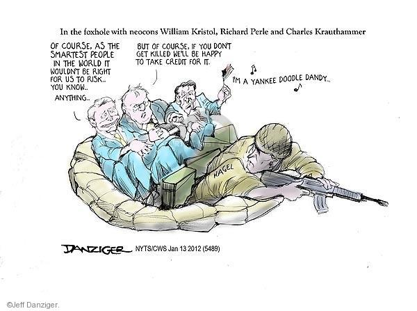 Cartoonist Jeff Danziger  Jeff Danziger's Editorial Cartoons 2013-01-13 patriotism