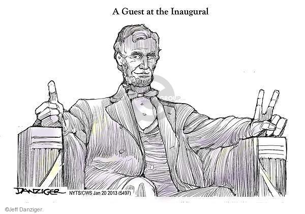Cartoonist Jeff Danziger  Jeff Danziger's Editorial Cartoons 2013-01-20 United States