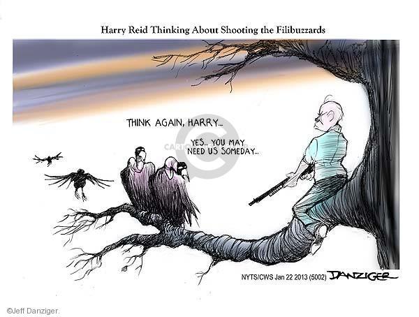 Cartoonist Jeff Danziger  Jeff Danziger's Editorial Cartoons 2013-01-22 senate majority leader