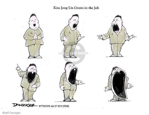 Cartoonist Jeff Danziger  Jeff Danziger's Editorial Cartoons 2013-01-27 leader