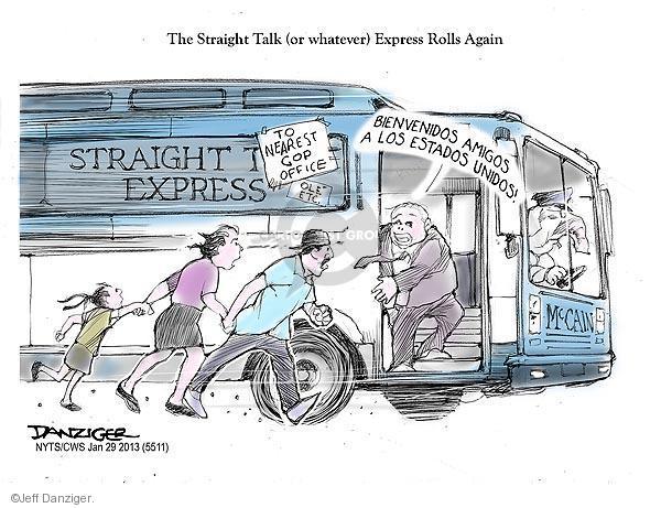 Jeff Danziger  Jeff Danziger's Editorial Cartoons 2013-01-29 office
