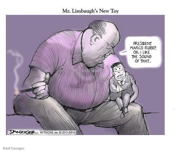 Cartoonist Jeff Danziger  Jeff Danziger's Editorial Cartoons 2013-01-30 republican politician