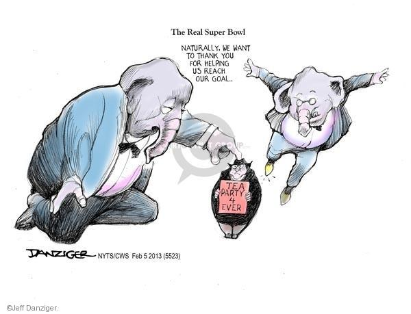 Cartoonist Jeff Danziger  Jeff Danziger's Editorial Cartoons 2013-02-05 conservative