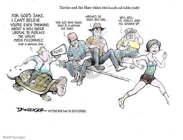 Jeff Danziger  Jeff Danziger's Editorial Cartoons 2013-02-10 office