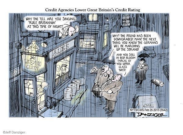 Cartoonist Jeff Danziger  Jeff Danziger's Editorial Cartoons 2013-02-25 patriotism