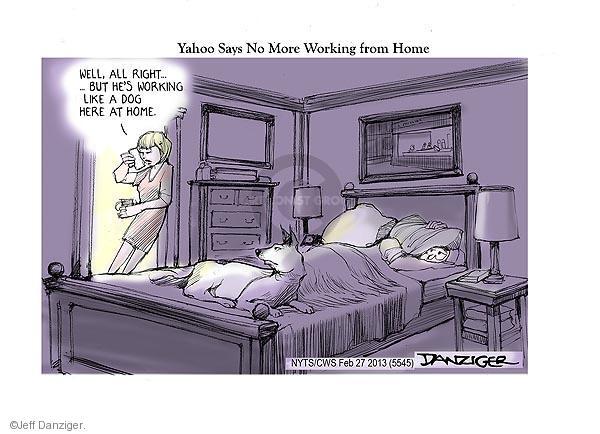 Jeff Danziger  Jeff Danziger's Editorial Cartoons 2013-02-27 employee