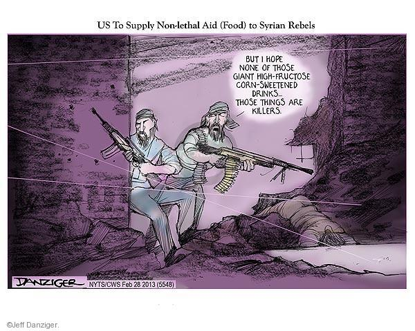 Cartoonist Jeff Danziger  Jeff Danziger's Editorial Cartoons 2013-02-28 international relations