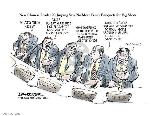 Jeff Danziger  Jeff Danziger's Editorial Cartoons 2013-03-07 chinese