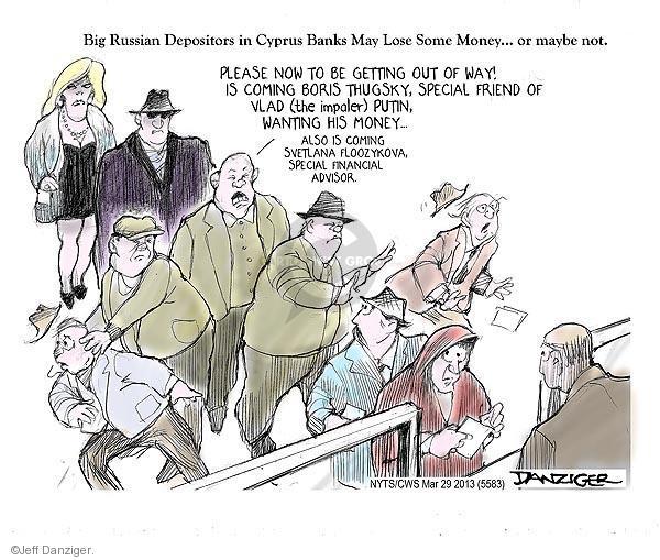 Jeff Danziger  Jeff Danziger's Editorial Cartoons 2013-03-29 Boris