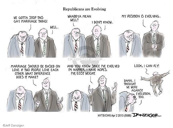 Cartoonist Jeff Danziger  Jeff Danziger's Editorial Cartoons 2013-04-02 don't