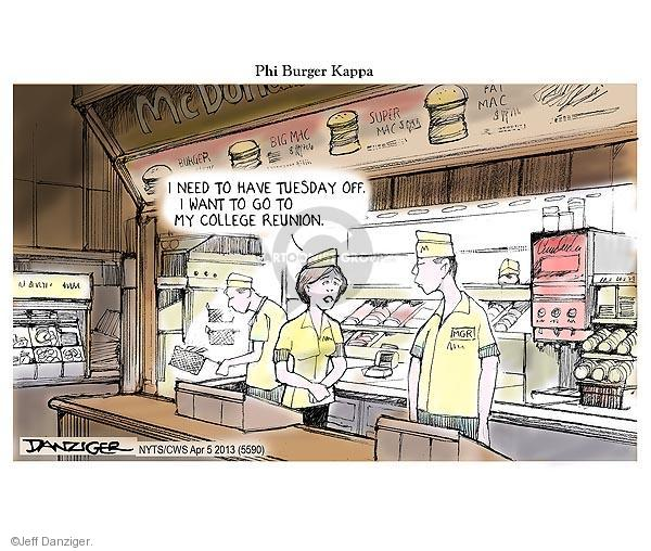 Jeff Danziger  Jeff Danziger's Editorial Cartoons 2013-04-05 employment work