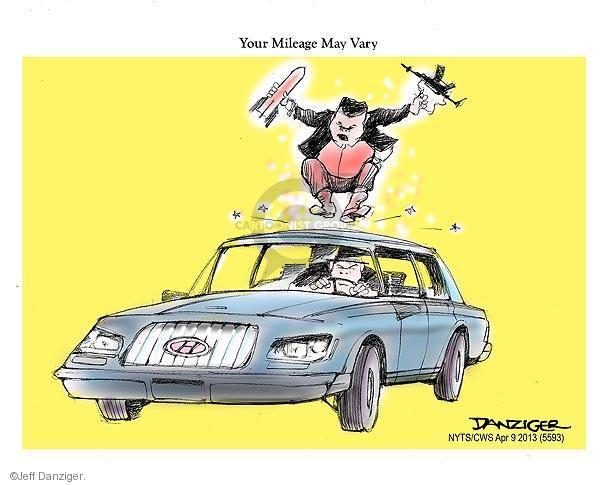 Jeff Danziger  Jeff Danziger's Editorial Cartoons 2013-04-09 rocket