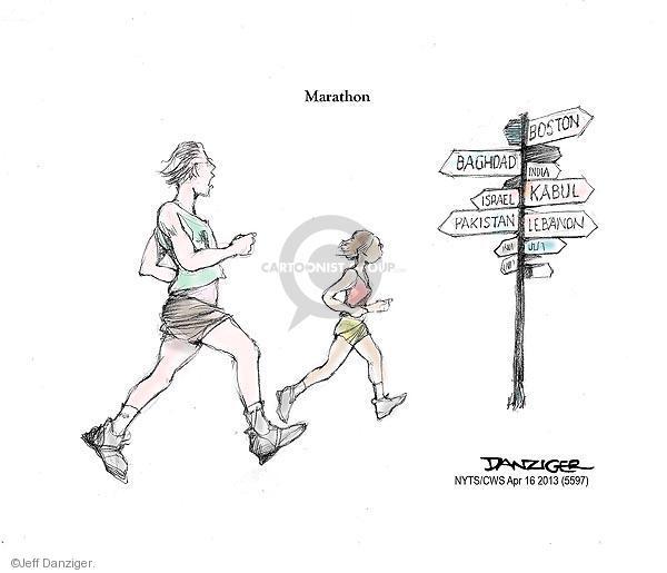 Jeff Danziger  Jeff Danziger's Editorial Cartoons 2013-04-16 Lebanon