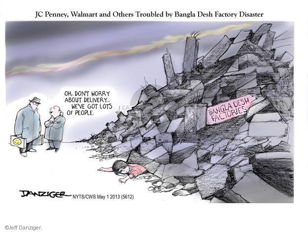 Cartoonist Jeff Danziger  Jeff Danziger's Editorial Cartoons 2013-05-01 don't