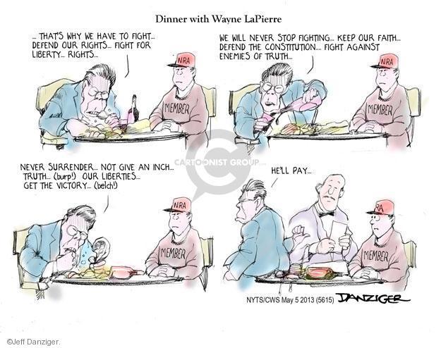 Jeff Danziger  Jeff Danziger's Editorial Cartoons 2013-05-05 defend