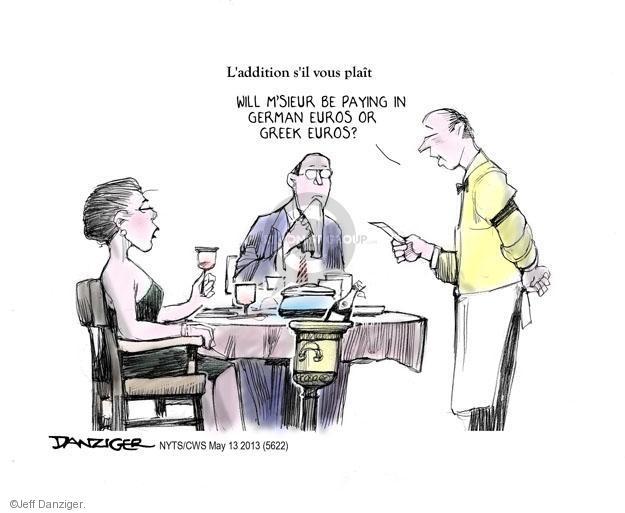 Cartoonist Jeff Danziger  Jeff Danziger's Editorial Cartoons 2013-05-13 check