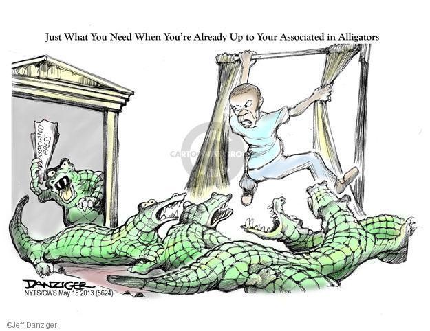 Cartoonist Jeff Danziger  Jeff Danziger's Editorial Cartoons 2013-05-15 media source