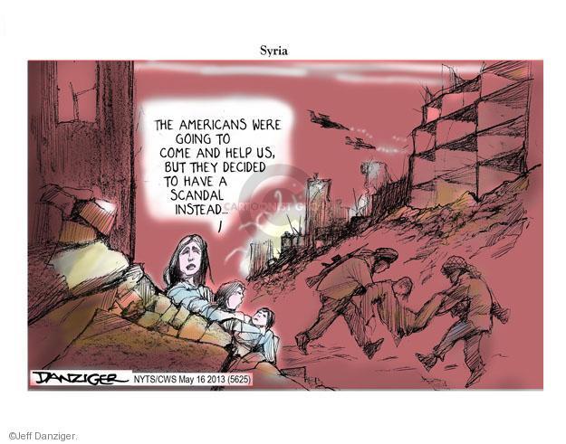 Cartoonist Jeff Danziger  Jeff Danziger's Editorial Cartoons 2013-05-16 United States
