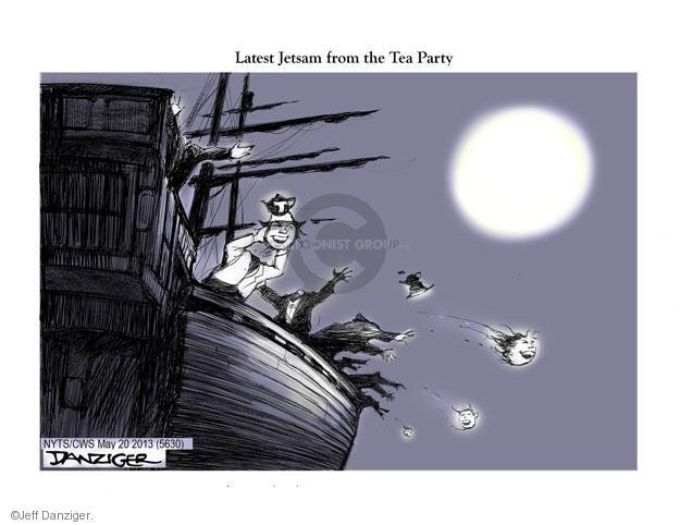 Cartoonist Jeff Danziger  Jeff Danziger's Editorial Cartoons 2013-05-21 conservative