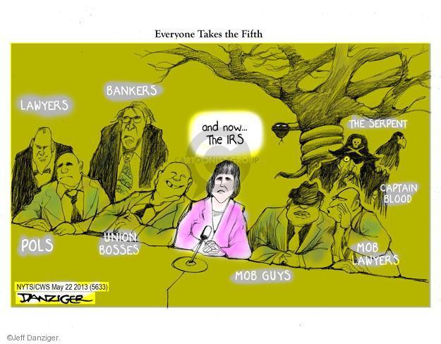Jeff Danziger  Jeff Danziger's Editorial Cartoons 2013-05-22 captain