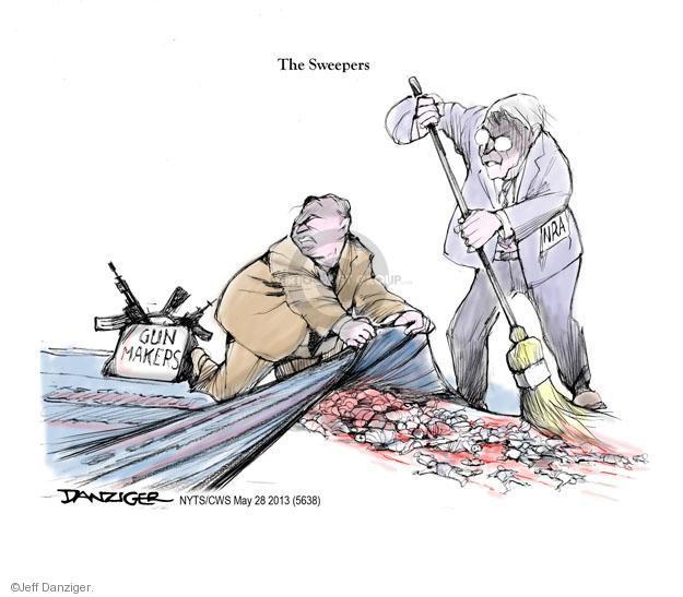 Jeff Danziger  Jeff Danziger's Editorial Cartoons 2013-05-28 assault weapon