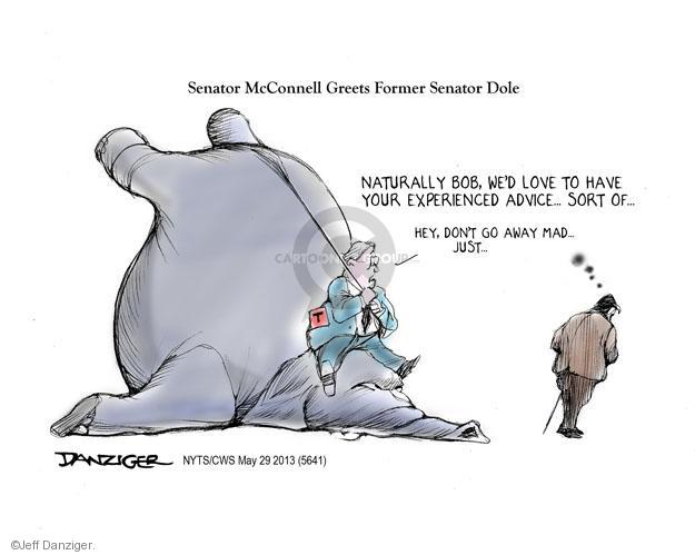 Cartoonist Jeff Danziger  Jeff Danziger's Editorial Cartoons 2013-05-29 obstruction