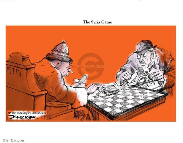 Cartoonist Jeff Danziger  Jeff Danziger's Editorial Cartoons 2013-05-29 Russian President