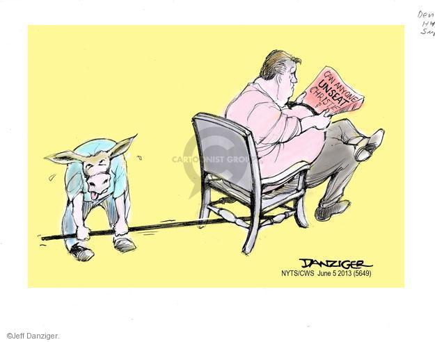 Cartoonist Jeff Danziger  Jeff Danziger's Editorial Cartoons 2013-06-05 republican