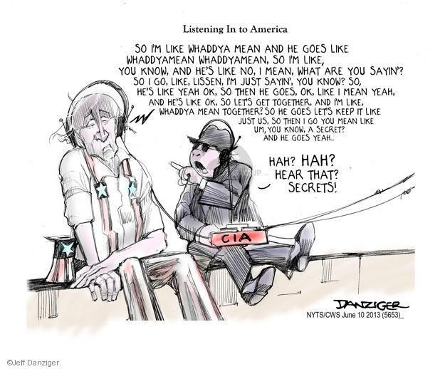 Jeff Danziger  Jeff Danziger's Editorial Cartoons 2013-06-10 America