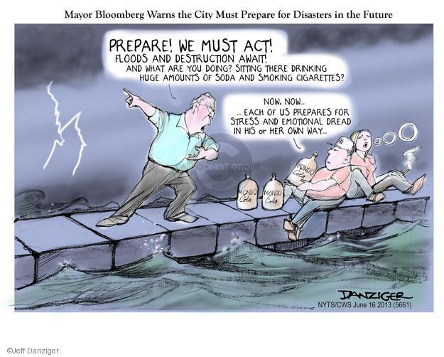Cartoonist Jeff Danziger  Jeff Danziger's Editorial Cartoons 2013-06-16 disaster