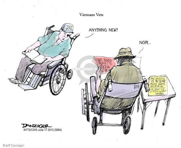 Cartoonist Jeff Danziger  Jeff Danziger's Editorial Cartoons 2013-06-17 American