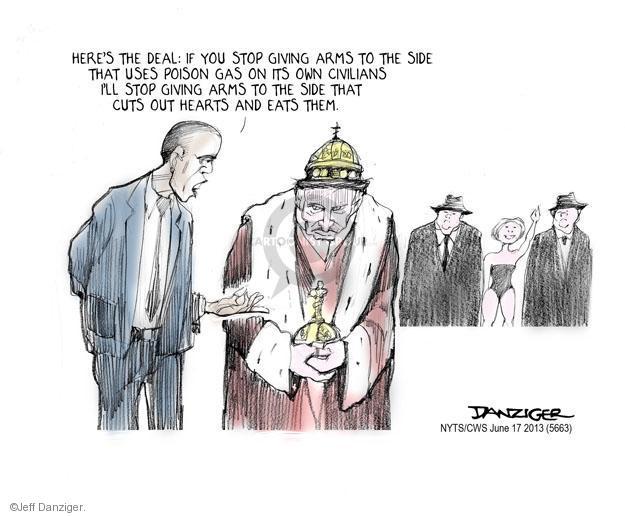 Cartoonist Jeff Danziger  Jeff Danziger's Editorial Cartoons 2013-06-17 rebel