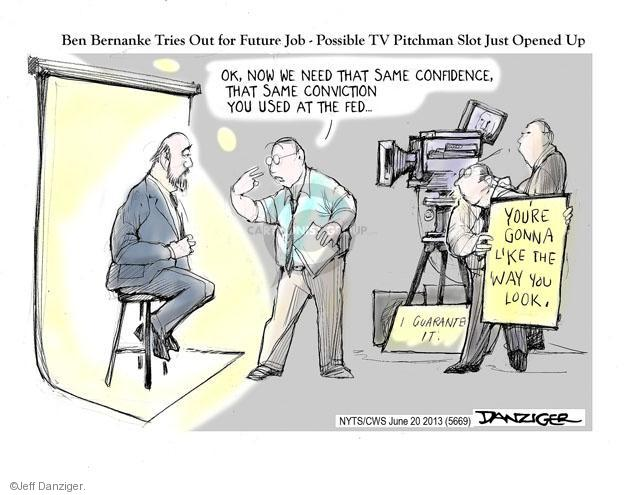 Cartoonist Jeff Danziger  Jeff Danziger's Editorial Cartoons 2013-06-20 chairman