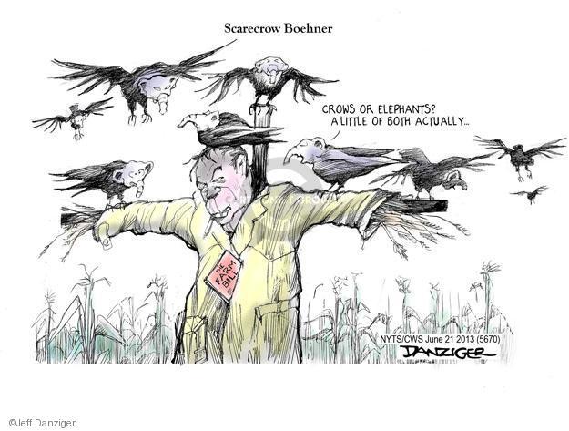 Cartoonist Jeff Danziger  Jeff Danziger's Editorial Cartoons 2013-06-21 house party