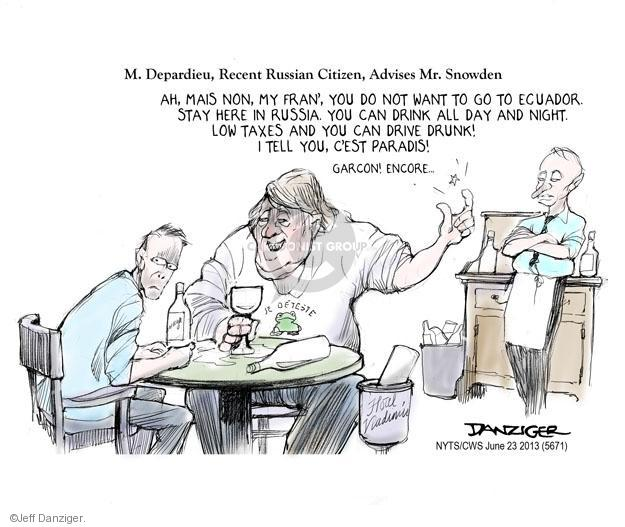 Jeff Danziger  Jeff Danziger's Editorial Cartoons 2013-06-23 record