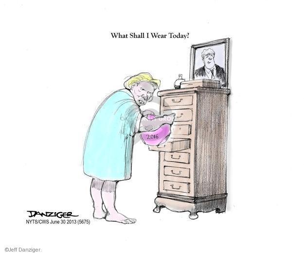 Cartoonist Jeff Danziger  Jeff Danziger's Editorial Cartoons 2013-06-30 wear