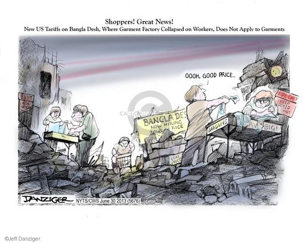 Cartoonist Jeff Danziger  Jeff Danziger's Editorial Cartoons 2013-06-30 building