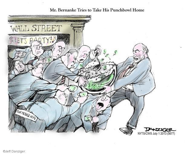 Jeff Danziger  Jeff Danziger's Editorial Cartoons 2013-07-01 stock market