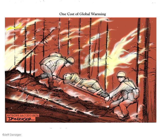 Cartoonist Jeff Danziger  Jeff Danziger's Editorial Cartoons 2013-07-02 forest fire