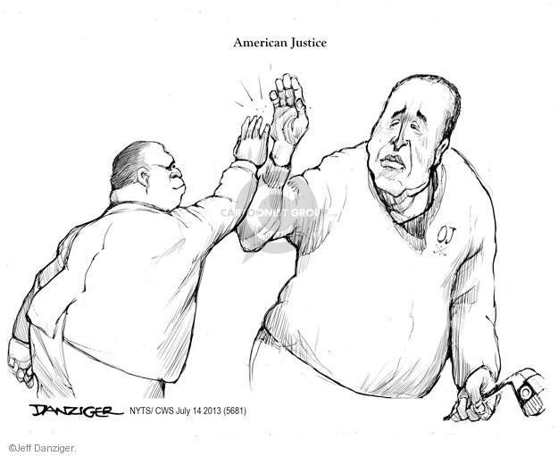 Cartoonist Jeff Danziger  Jeff Danziger's Editorial Cartoons 2013-07-14 case