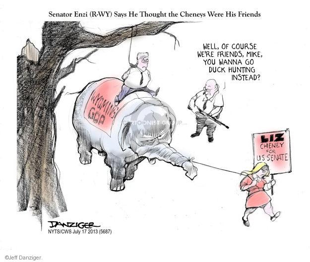 Cartoonist Jeff Danziger  Jeff Danziger's Editorial Cartoons 2013-07-17 candidates republicans