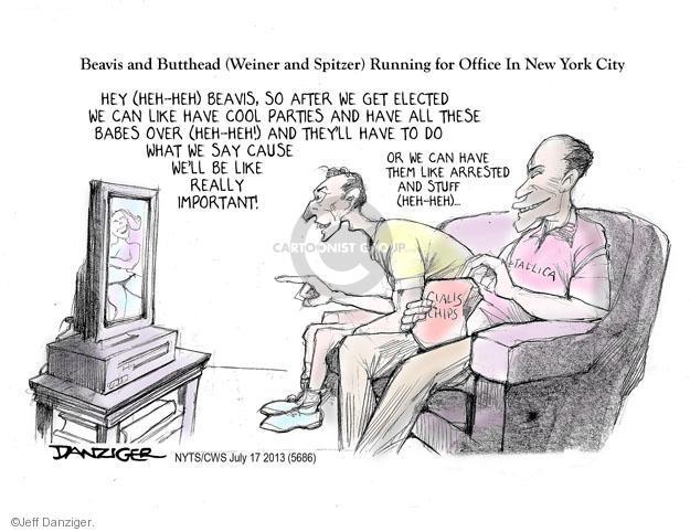 Jeff Danziger  Jeff Danziger's Editorial Cartoons 2013-07-17 elected office
