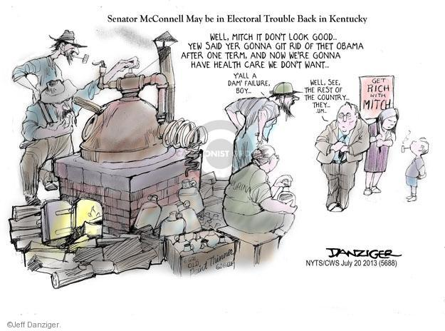 Jeff Danziger  Jeff Danziger's Editorial Cartoons 2013-07-21 political credibility