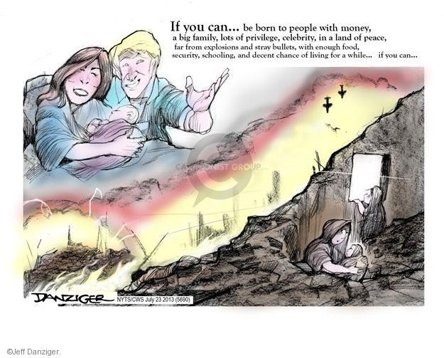 Cartoonist Jeff Danziger  Jeff Danziger's Editorial Cartoons 2013-07-23 poverty