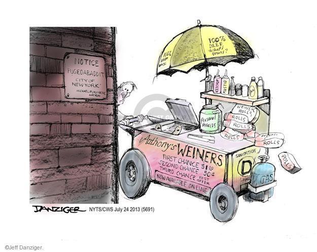 Jeff Danziger  Jeff Danziger's Editorial Cartoons 2013-07-24 $1.00