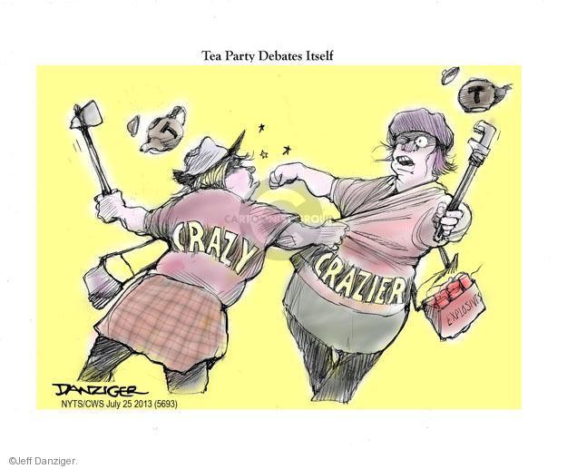 Jeff Danziger  Jeff Danziger's Editorial Cartoons 2013-07-26 tea party