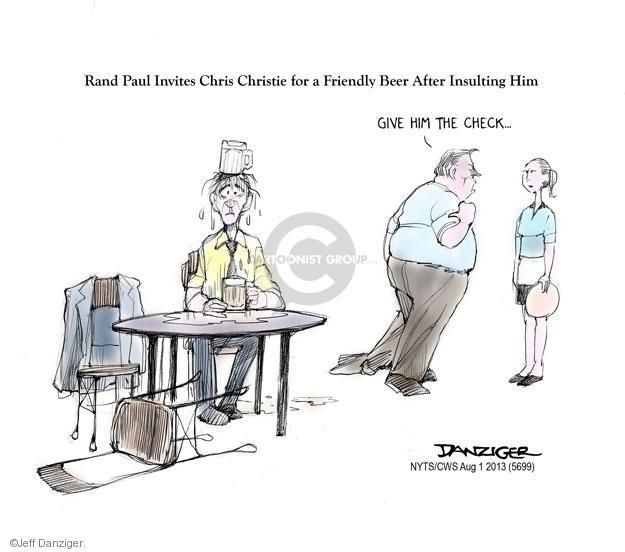 Cartoonist Jeff Danziger  Jeff Danziger's Editorial Cartoons 2013-08-01 check