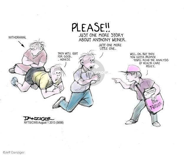 Cartoonist Jeff Danziger  Jeff Danziger's Editorial Cartoons 2013-08-01 gotta