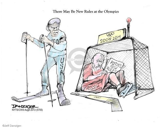 Cartoonist Jeff Danziger  Jeff Danziger's Editorial Cartoons 2013-08-08 Russian President