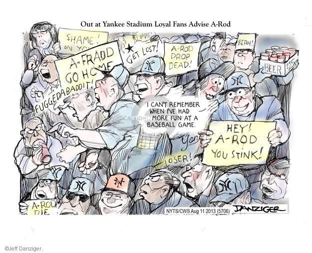 Jeff Danziger  Jeff Danziger's Editorial Cartoons 2013-08-11 stink